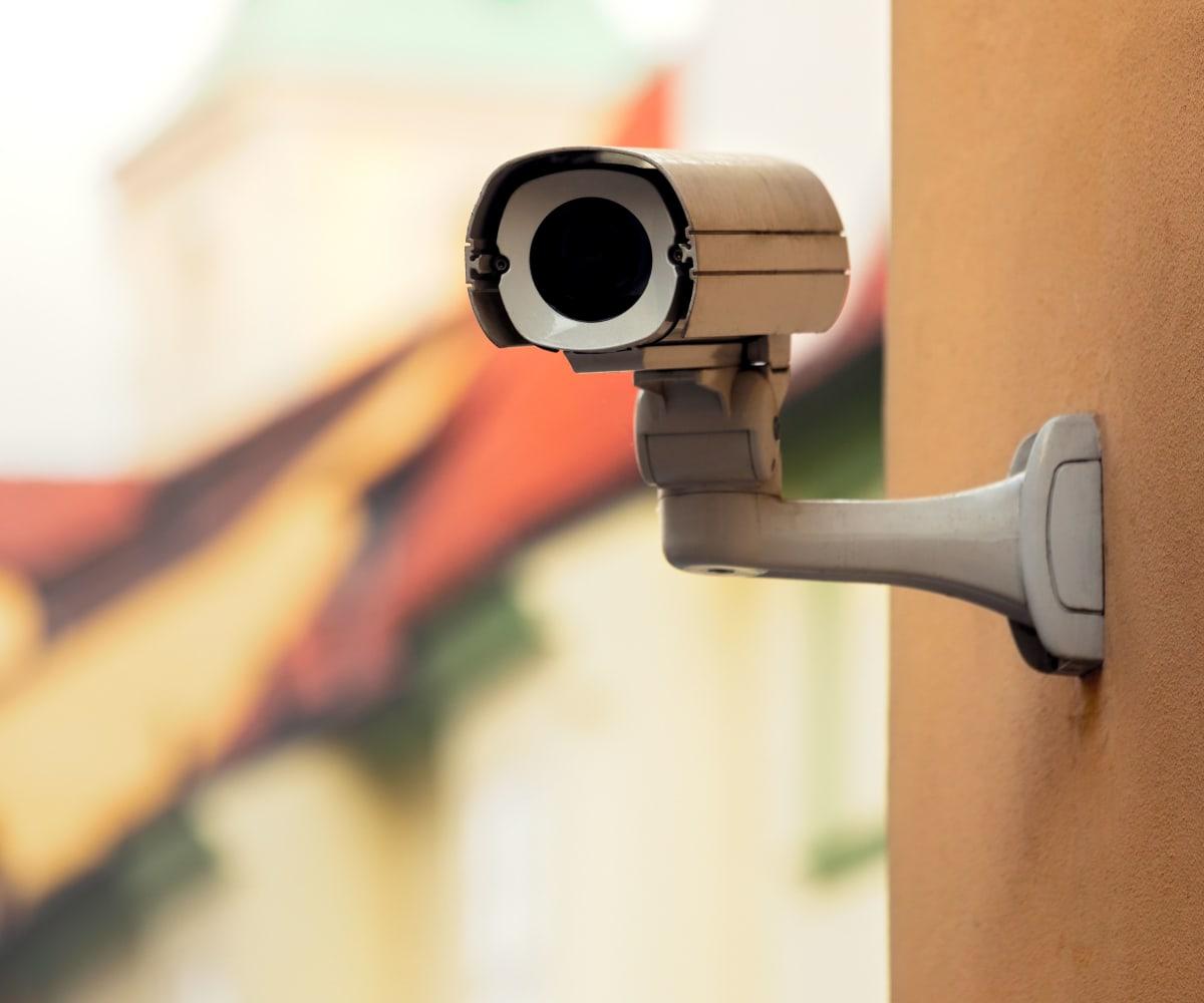 Video surveillance at Devon Self Storage in Yukon, Oklahoma