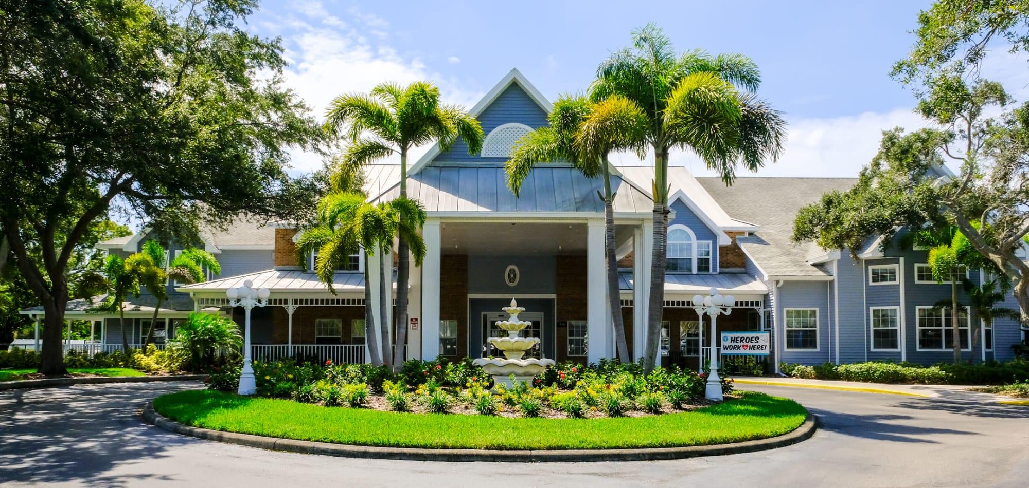 Grand Villa of Largo senior living in Florida