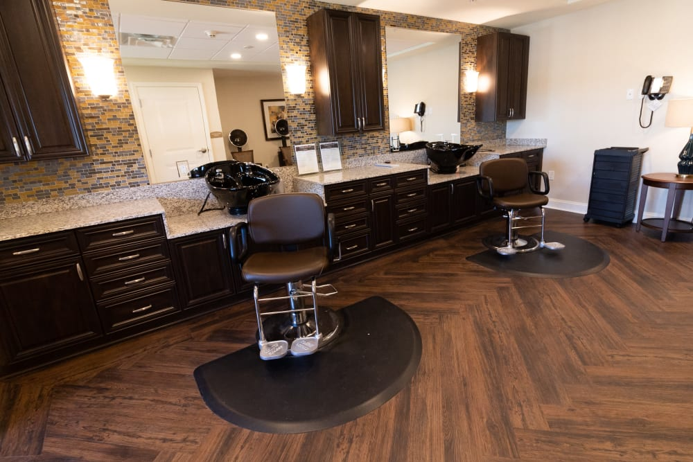 Salon at Harmony at State College in State College, Pennsylvania