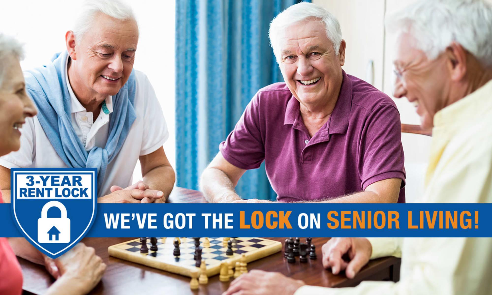 Palm Beach Gardens senior living community has a wonderful clubhouse