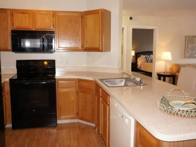 Our apartments in Baltimore, MD offer a kitchen