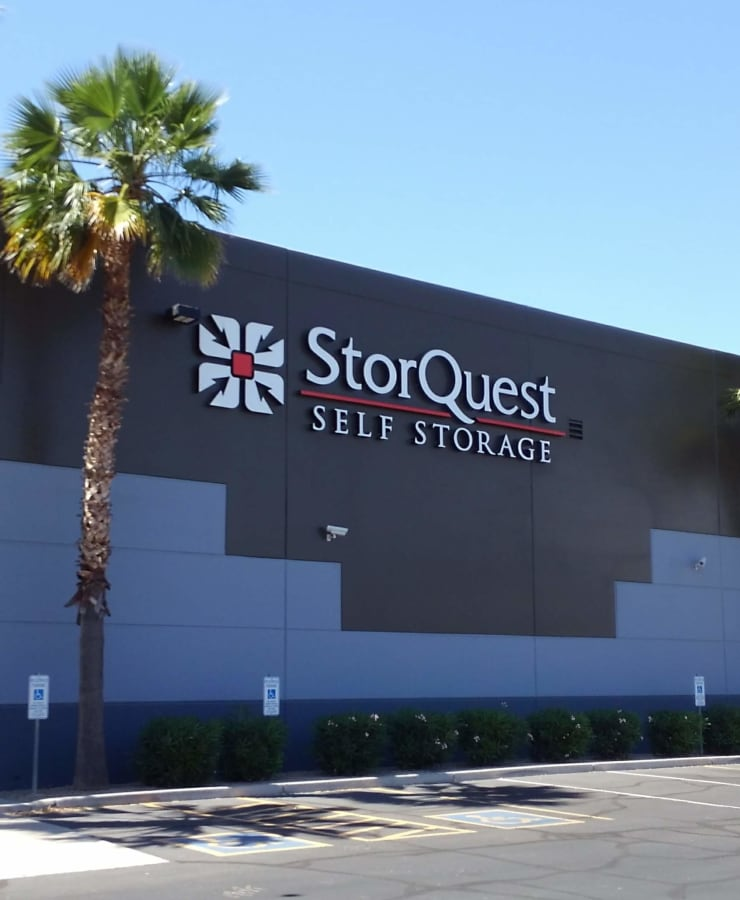 Exterior at StorQuest Self Storage in Chandler, Arizona