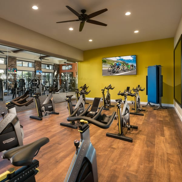 Fitness center at San Piedra in Mesa, Arizona