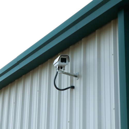 24-hour security camera at Red Dot Storage in Covington, Louisiana