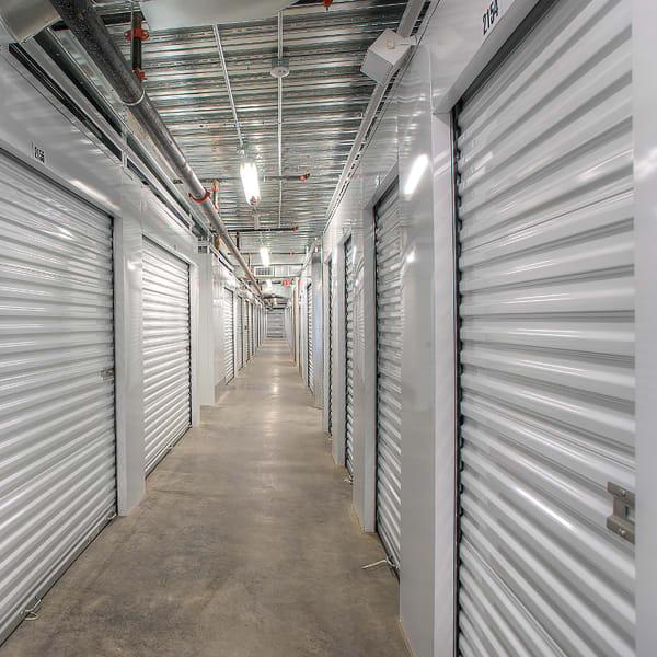 Indoor units at StorQuest Self Storage in San Rafael, California