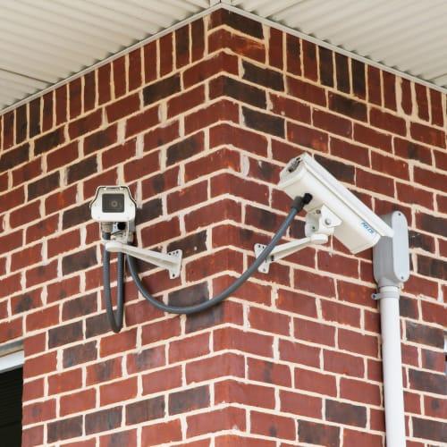 Security cameras at Red Dot Storage in Sherwood, Arkansas