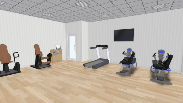 Fairways of Ironhorse fitness center