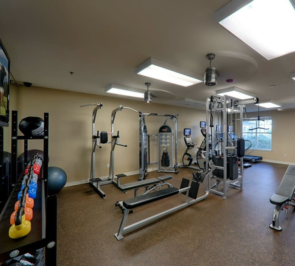 Community amenities at Crescent Club in New Orleans, Louisiana