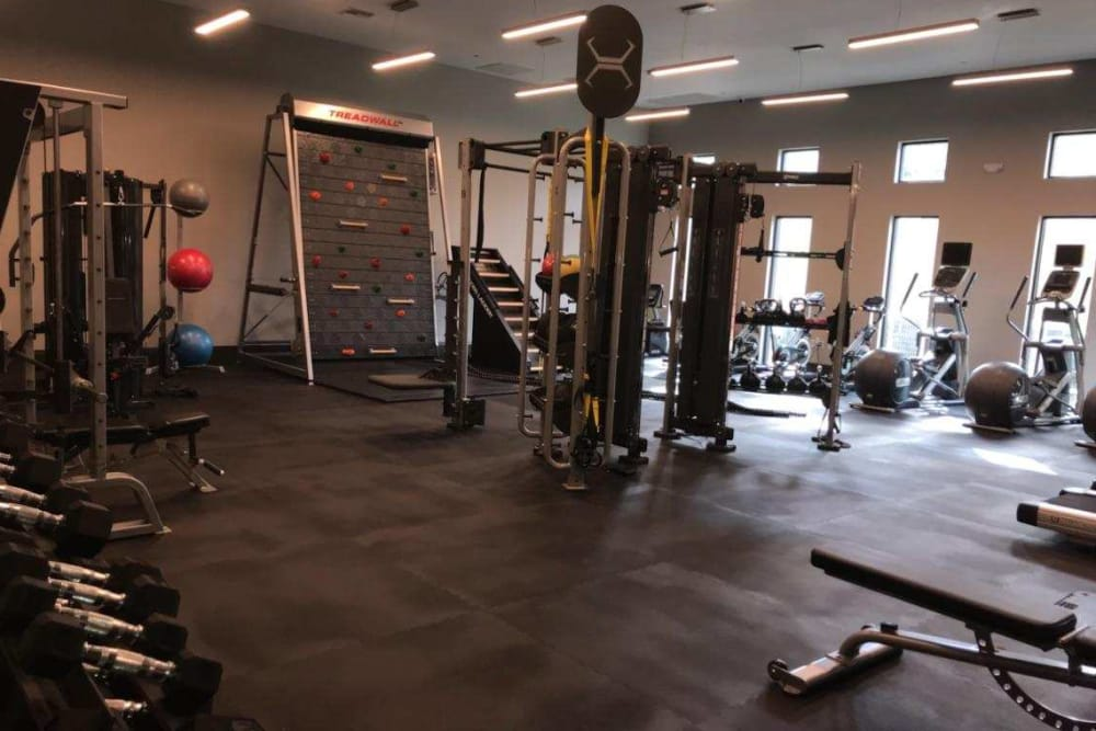 Fitness center at Vista at Lost Lake in Clermont, Florida