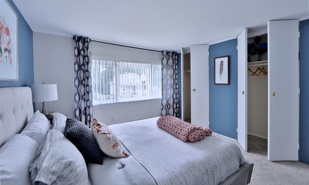 Bedroom at Gwynnbrook Townhomes in Baltimore, MD