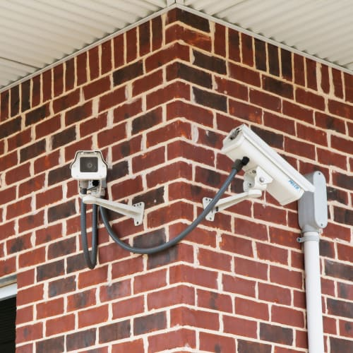 Security cameras at Red Dot Storage in Slidell, Louisiana