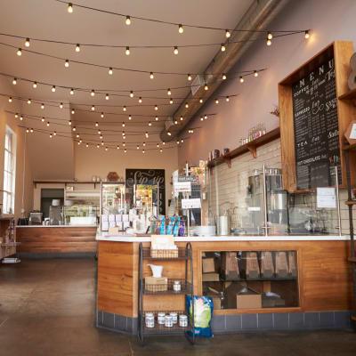 Favorite neighborhood cafe near Sofi Riverview Park in San Jose, California