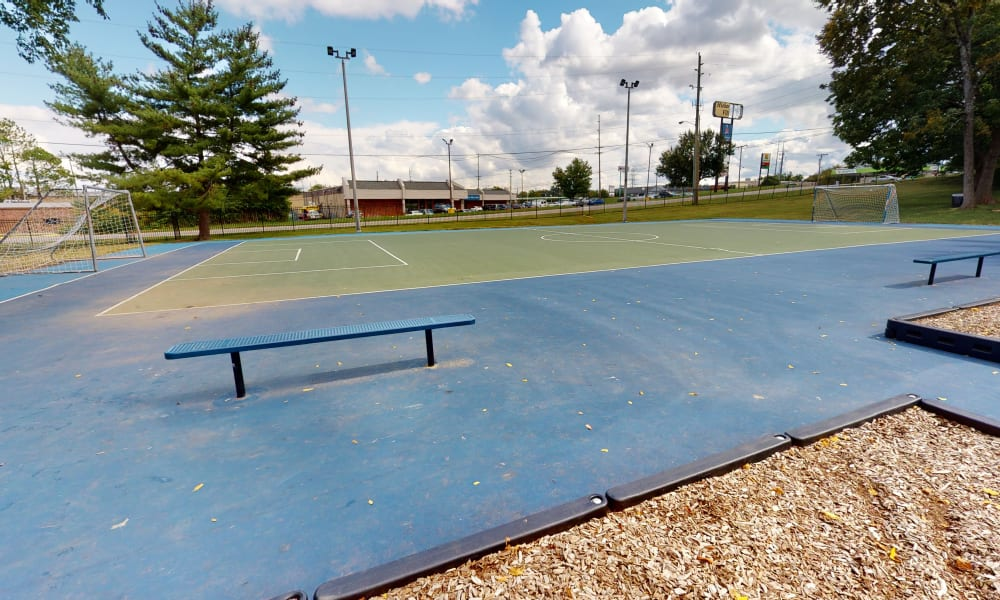 Sports court at The Residences at Stonebrook in Nashville, Tennessee