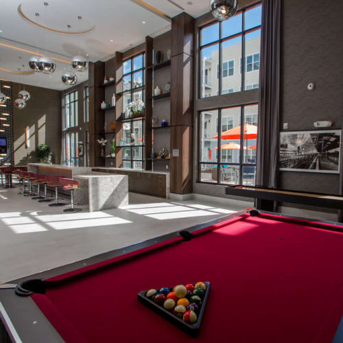 View our amenities at The Mark Parsippany in Parsippany, New Jersey