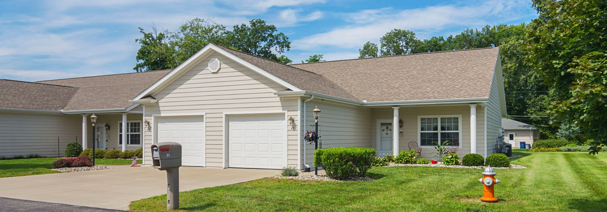 Independent living is available at Rittenhouse Village At Michigan City