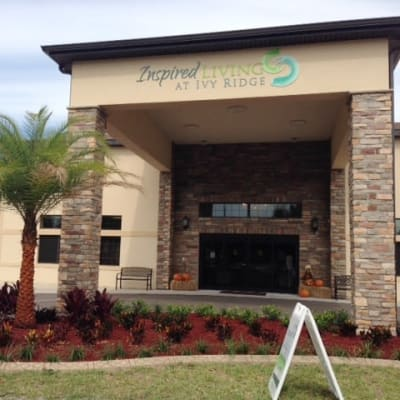 The community Inspired Living at Ivy Ridge, in St Petersburg, Florida