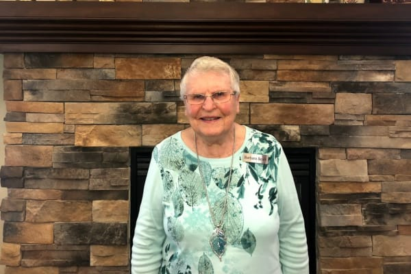Mary Jo Greenwood at The Bradley Gracious Retirement Living in Kanata, Ontario