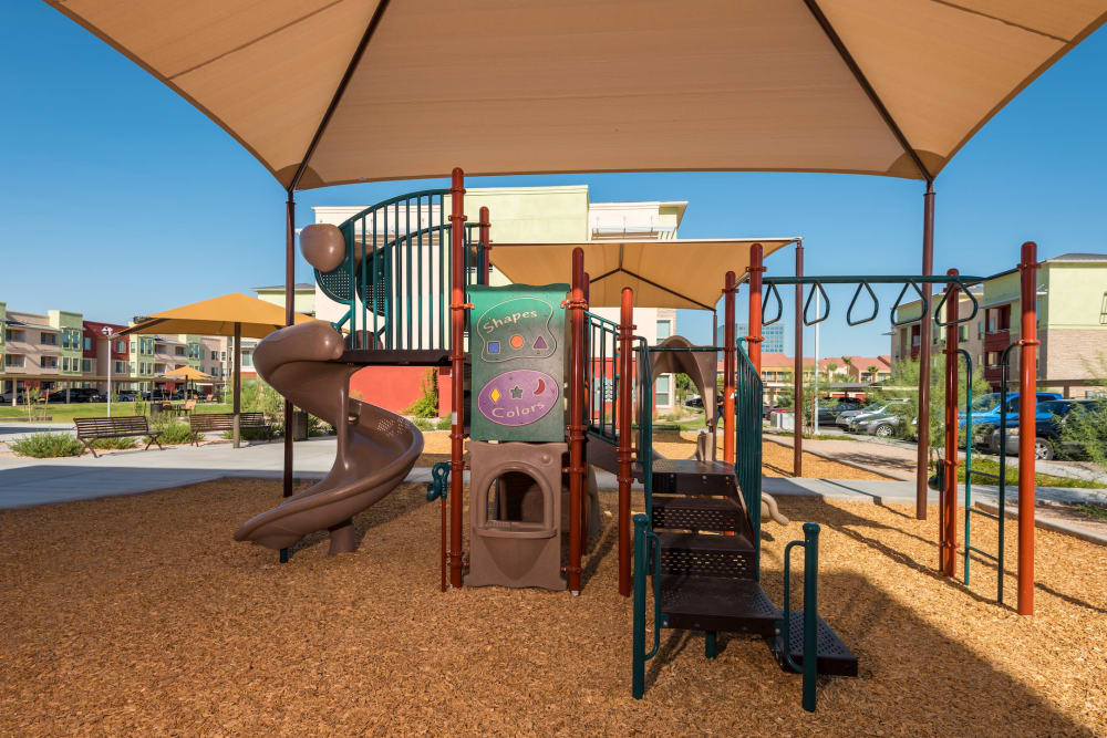 Playground at Southern Avenue Villas in Mesa, Arizona