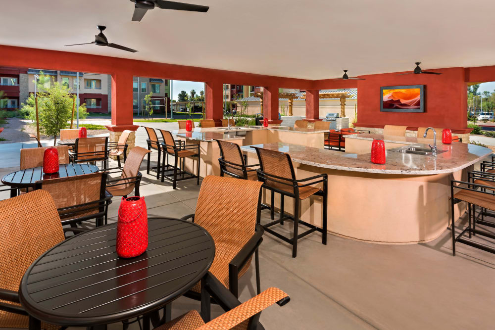Clubhouse at Southern Avenue Villas in Mesa, Arizona