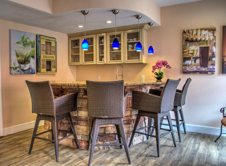 Beautifully designed indoor common area at Casa Del Rio Senior Living in Peoria, Arizona