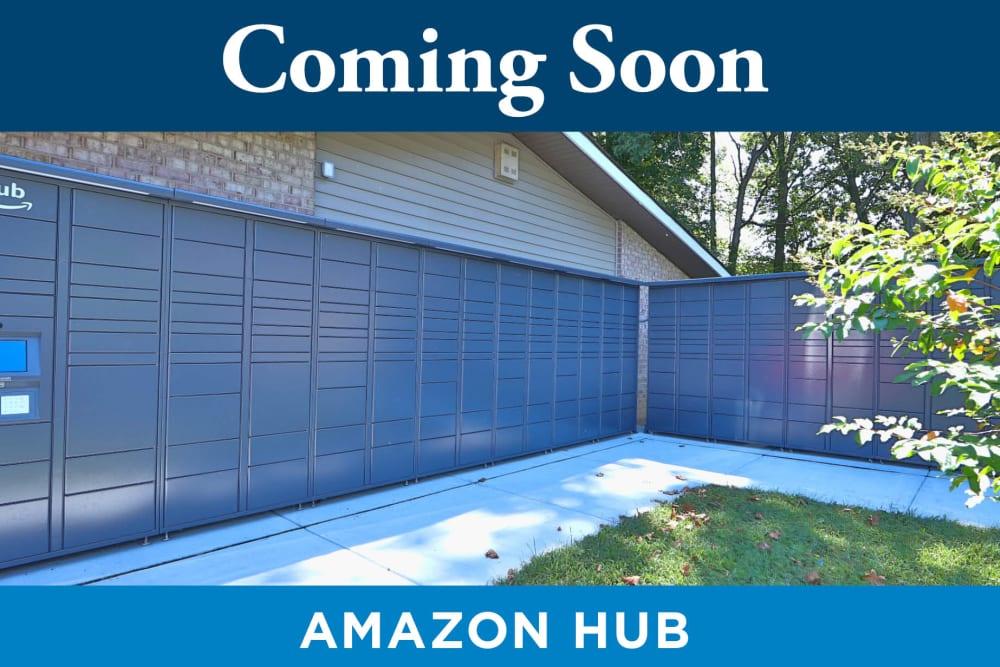 Amazon Hub at Tamarron Apartment Homes in Olney, Maryland