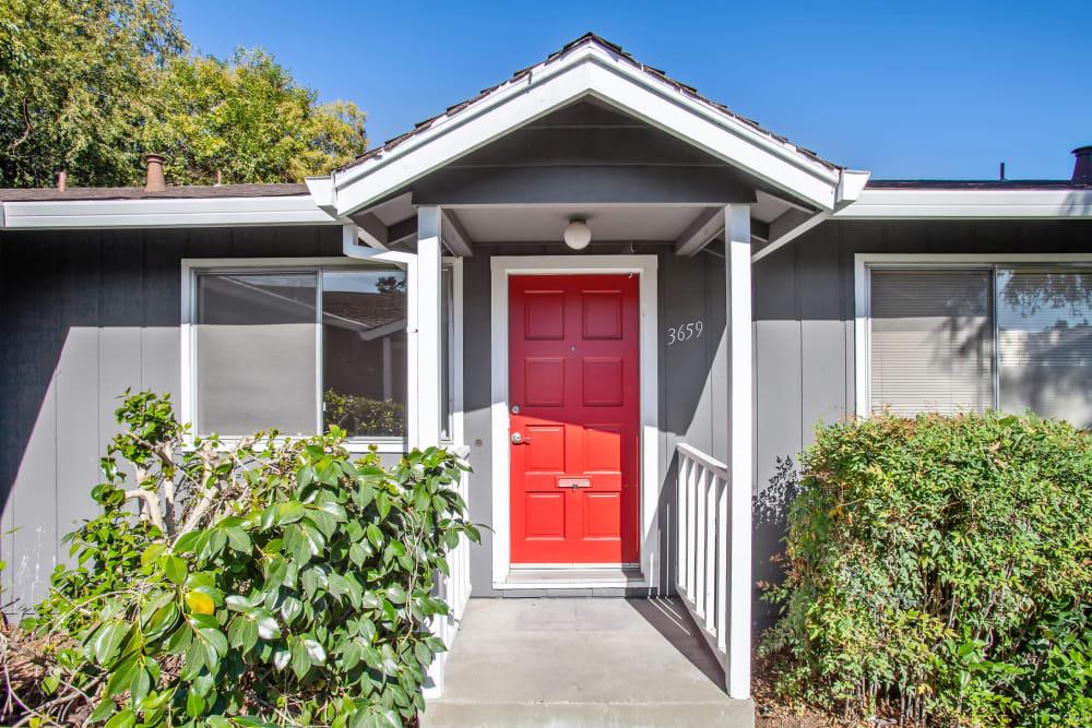 Entryway at Spring Lake Apartment Homes in Santa Rosa, California