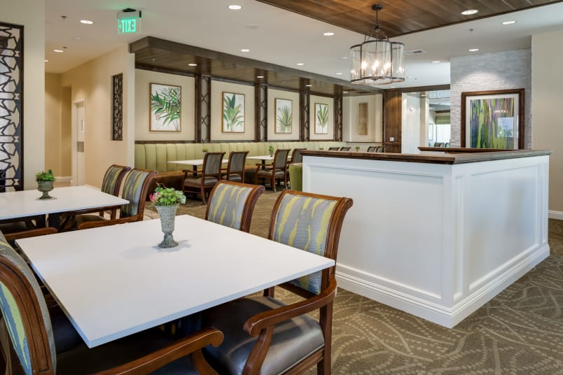 Our amenities at The Montera in La Mesa, California