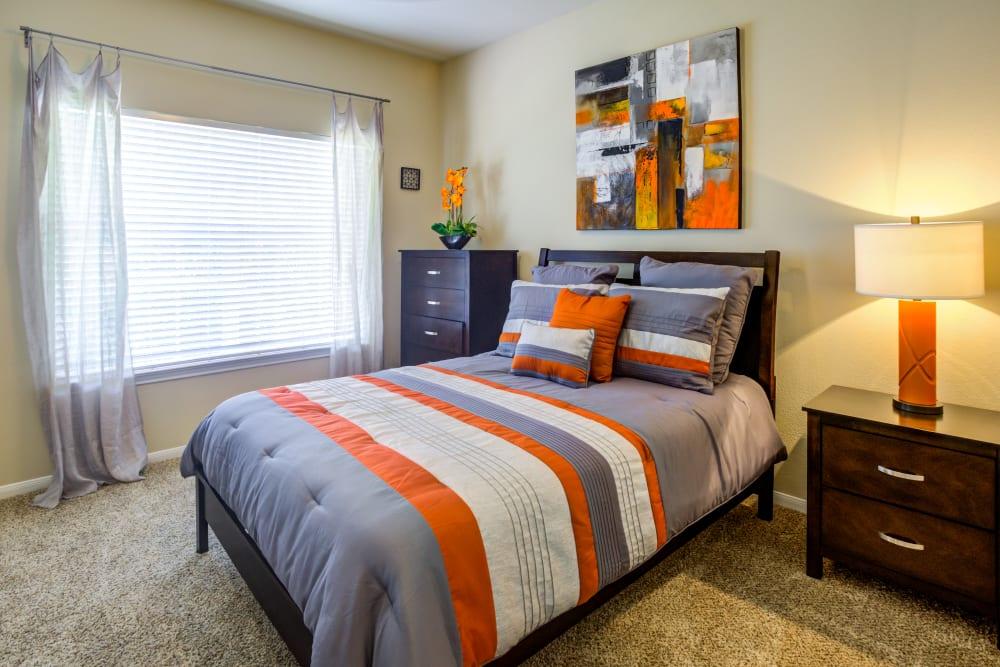 Bedroom at Apartments in San Antonio, Texas