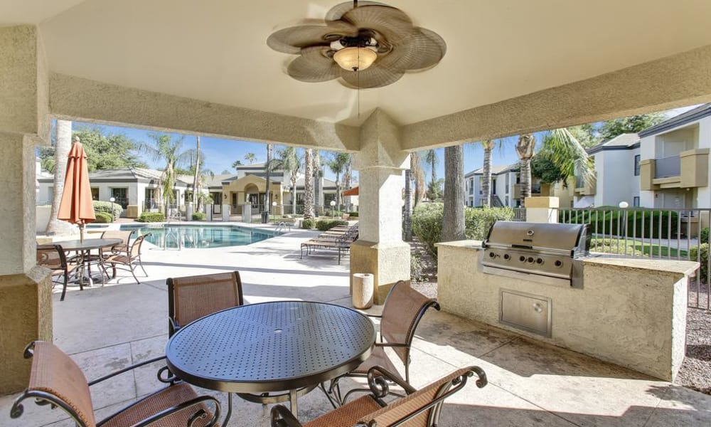 CentrePoint Apartments offers a beautiful bbq area in Tucson, Arizona