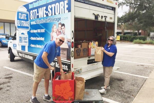 Atlantic Self Storage moving truck