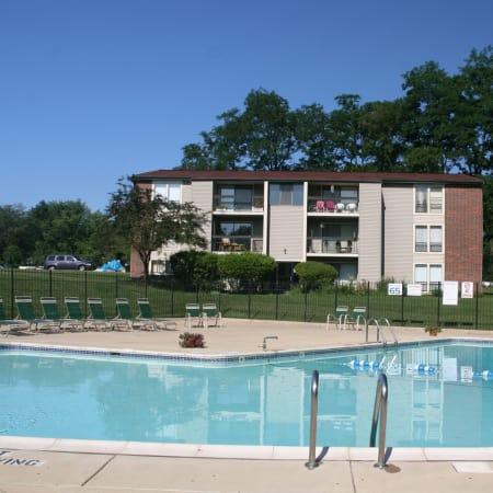 Fairway Trails's luxury pool