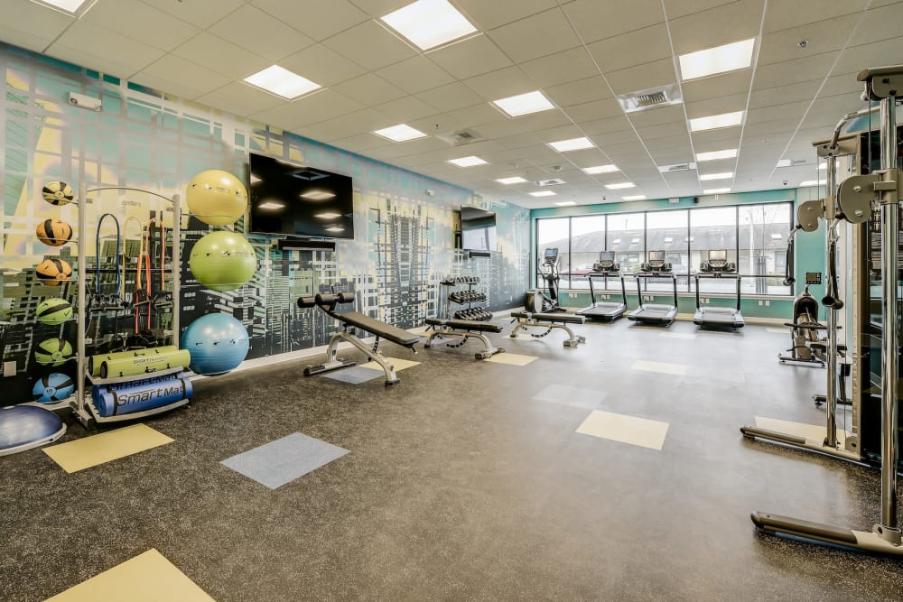 Enjoy Apartments with a Gym at Kinect @ Broadway