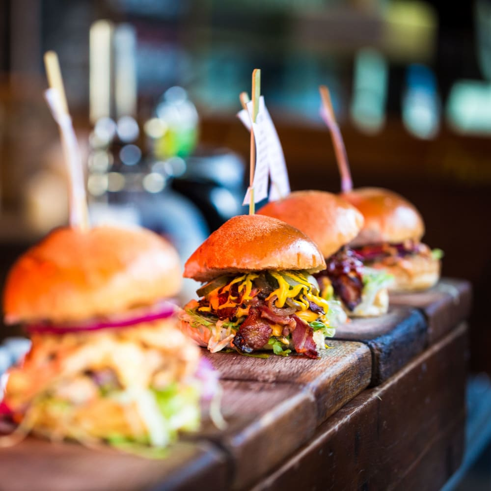 Try a smoked rita & cheese fries at Grub Burger Bar near The Jaxon in Jacksonville, Florida