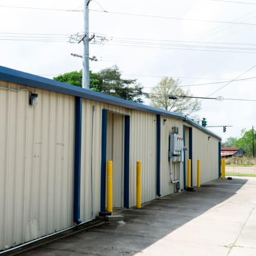 Climate controlled storage units at Red Dot Storage in Denham Springs, Louisiana