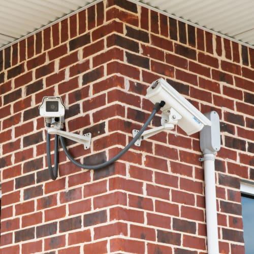 24-hour surveillance cameras at Red Dot Storage in Whitehall, Ohio