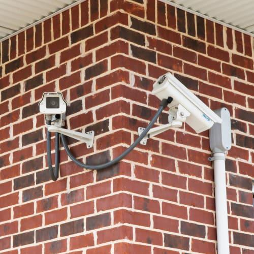 24-hour surveillance cameras at Red Dot Storage in Wichita, Kansas