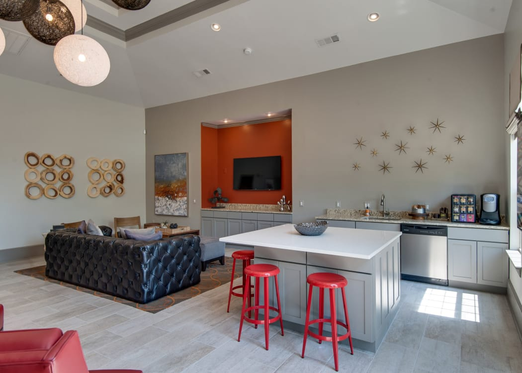 Communal area at Legacy at Meridian in Durham