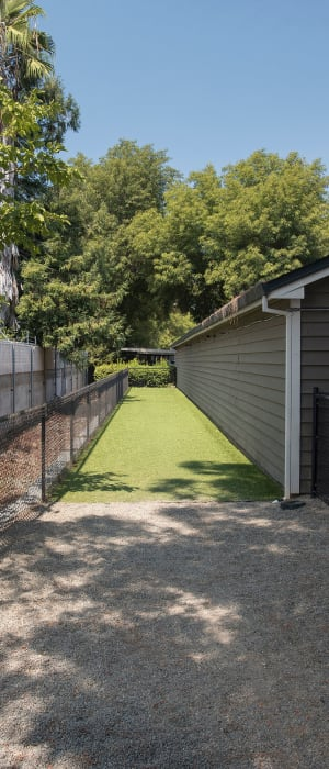 Onsite dog park for your furbaby at The Reserve at Capital Center Apartment Homes in Rancho Cordova, California
