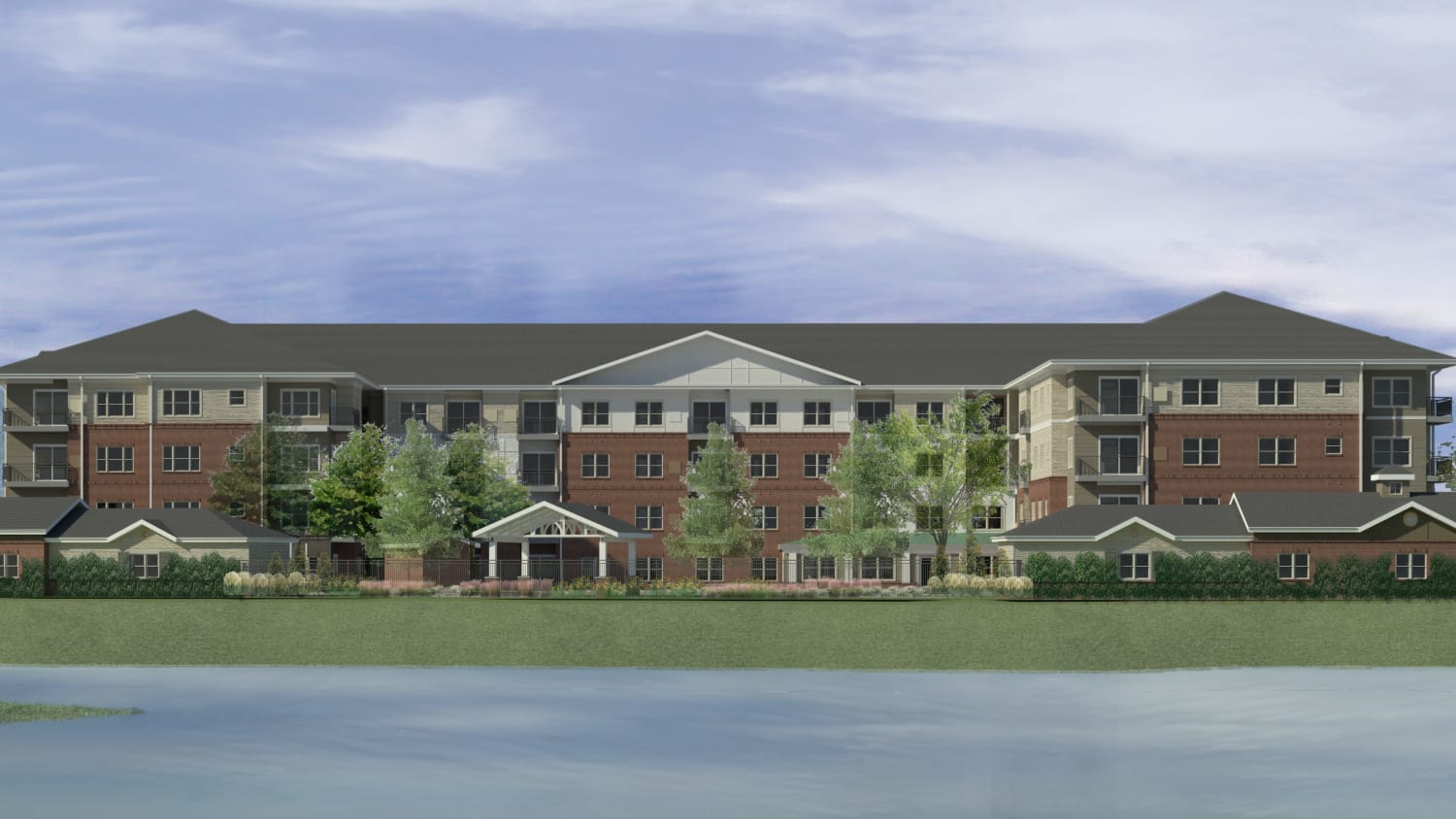 Rendering of Avenida Watermarq at Germantown exterior in Germantown, Tennessee