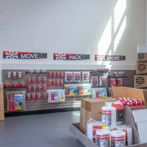 Packing supplies sold at StorQuest Self Storage in Tigard, Oregon