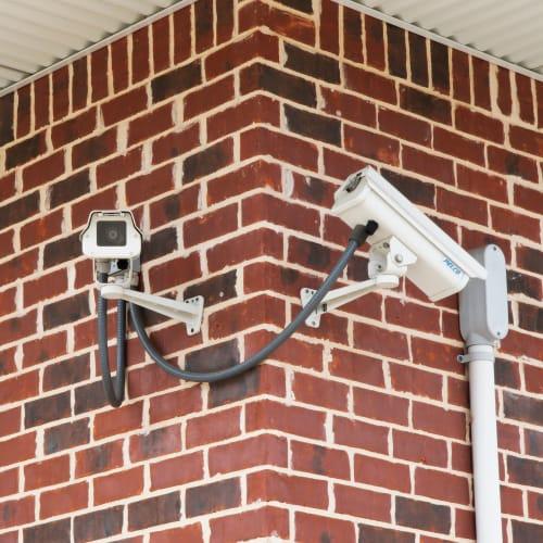 24-hour surveillance cameras at Red Dot Storage in St. Joseph, Missouri