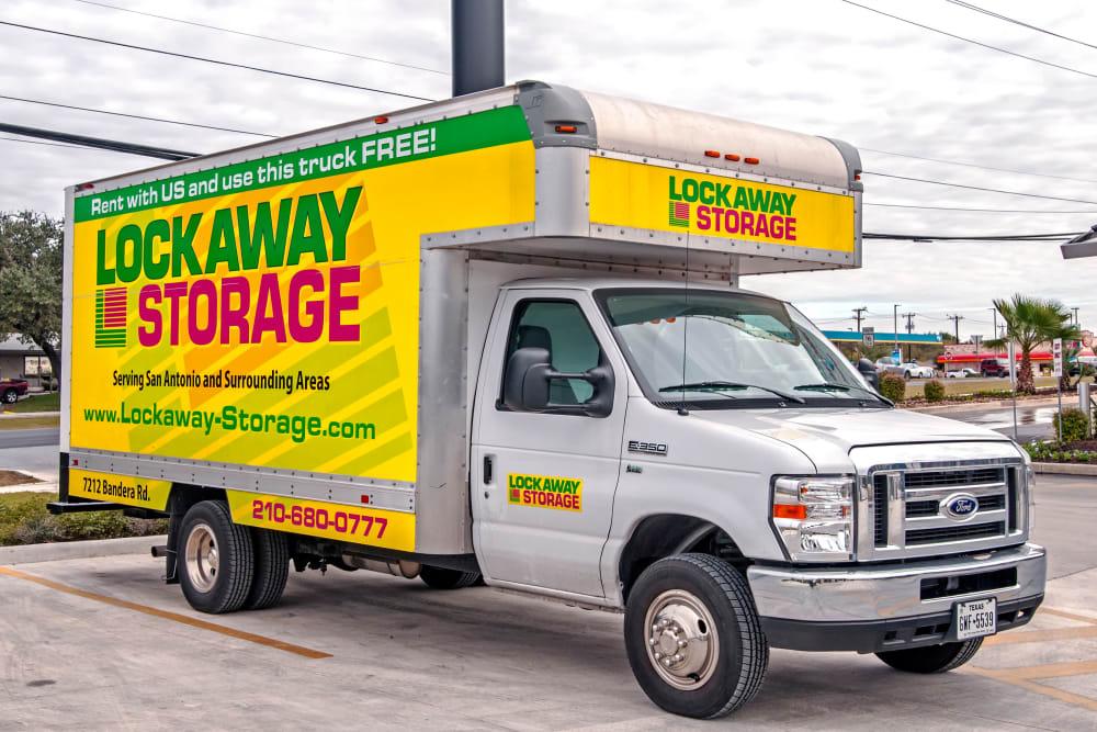 Lockaway Storage Bandera Moving Truck