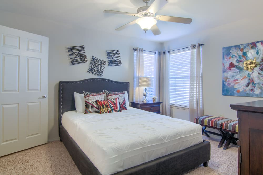 Bedroom at Villas At Preston Lakes in Owasso, Oklahoma