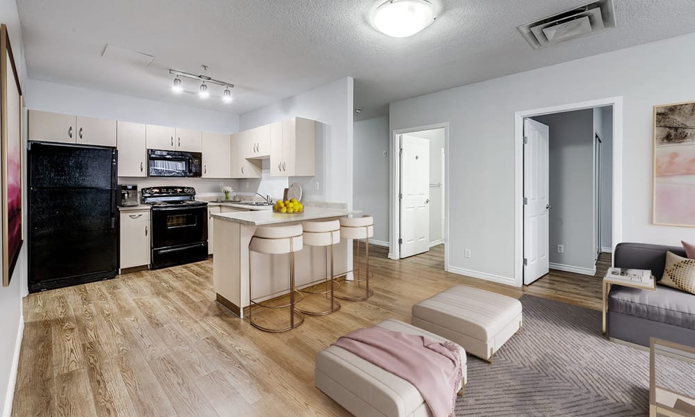Kitchen at Park Square | Apartments in Edmonton, AB