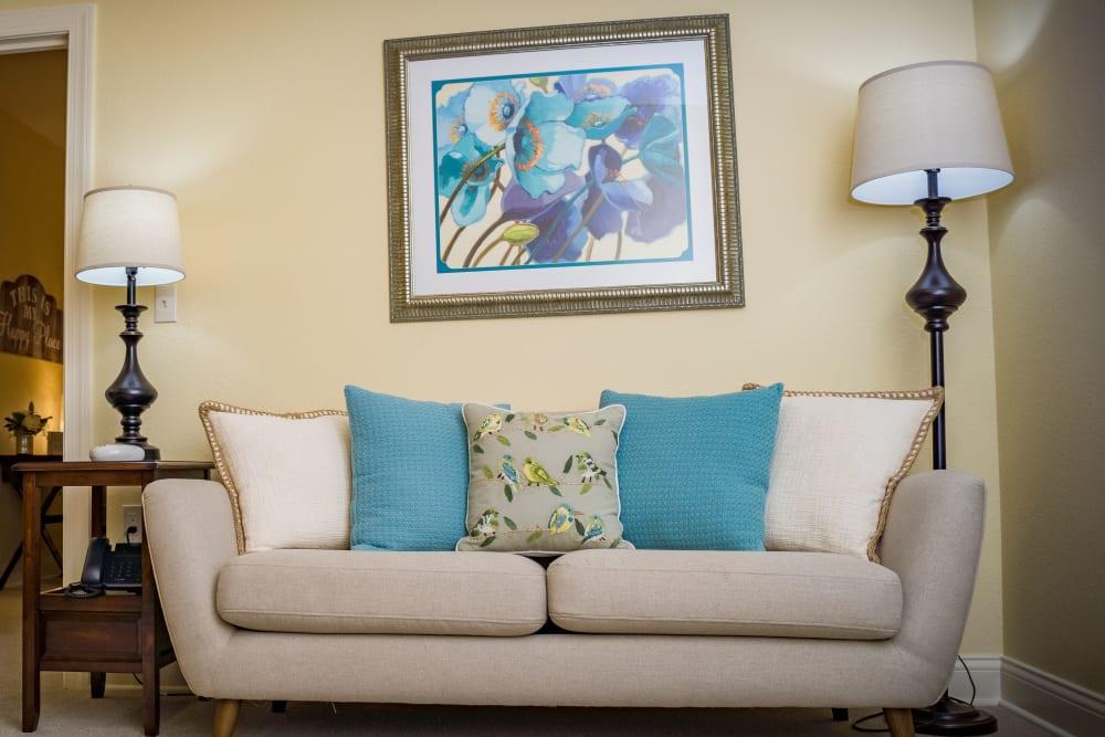 Living room at Welbrook Grand Montecito in Las Vegas in Nevada
