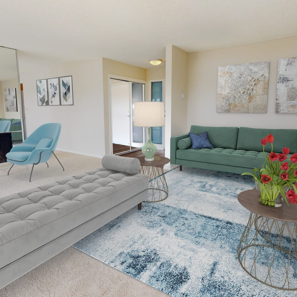 View a virtual tour of a 2 bedroom penthouse at The Tides at Marina Harbor in Marina del Rey, California