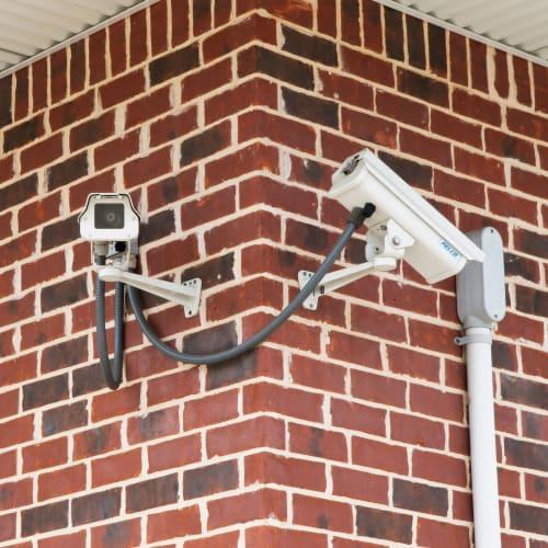 24-hour surveillance cameras at Red Dot Storage in Granite City, Illinois