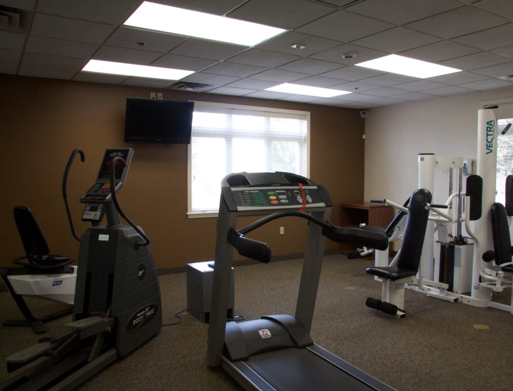 Fitness Center at Ridgedale Manor in Greece