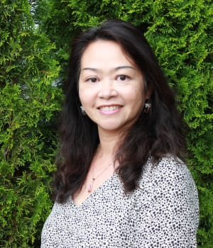 Vivian Luu of Mission Healthcare at Renton in Renton, Washington.