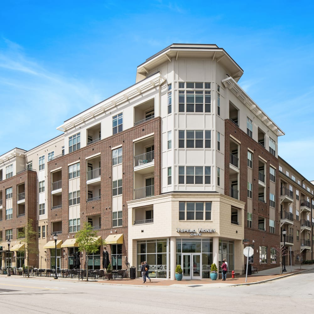 View the site for 401 Oberlin apartments in Raleigh, North Carolina